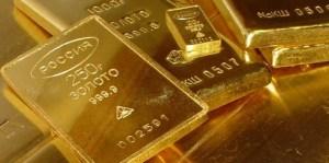 Rusland kocht vorig jaar 223 ton goud