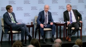 """Joe Biden: """"Europa was moeilijk te overtuigen van sancties tegen Rusland"""""""