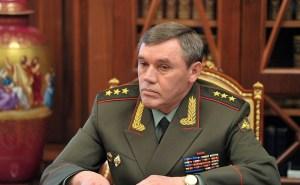 Russische stafchef waarschuwt VS voor interventie in Syrië