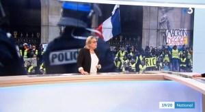 Franse televisiezender manipuleerde beelden demonstraties