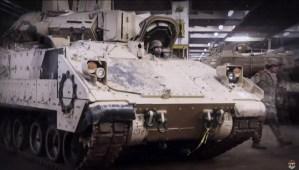 Eerste treinen met Amerikaanse tanks richting Oost-Europa