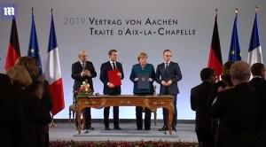 Frankrijk en Duitsland tekenen verdrag voor meer samenwerking