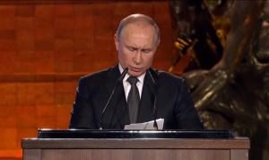 """Poetin: 'Het is tijd voor vredesoverleg tussen wereldmachten"""""""