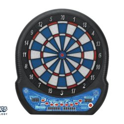 Harrows electronisch Dartboard Masters choice 3 softtip met 12 pijlen