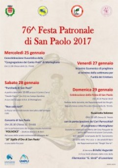 manifesto_2017 festa patronale San Paolo