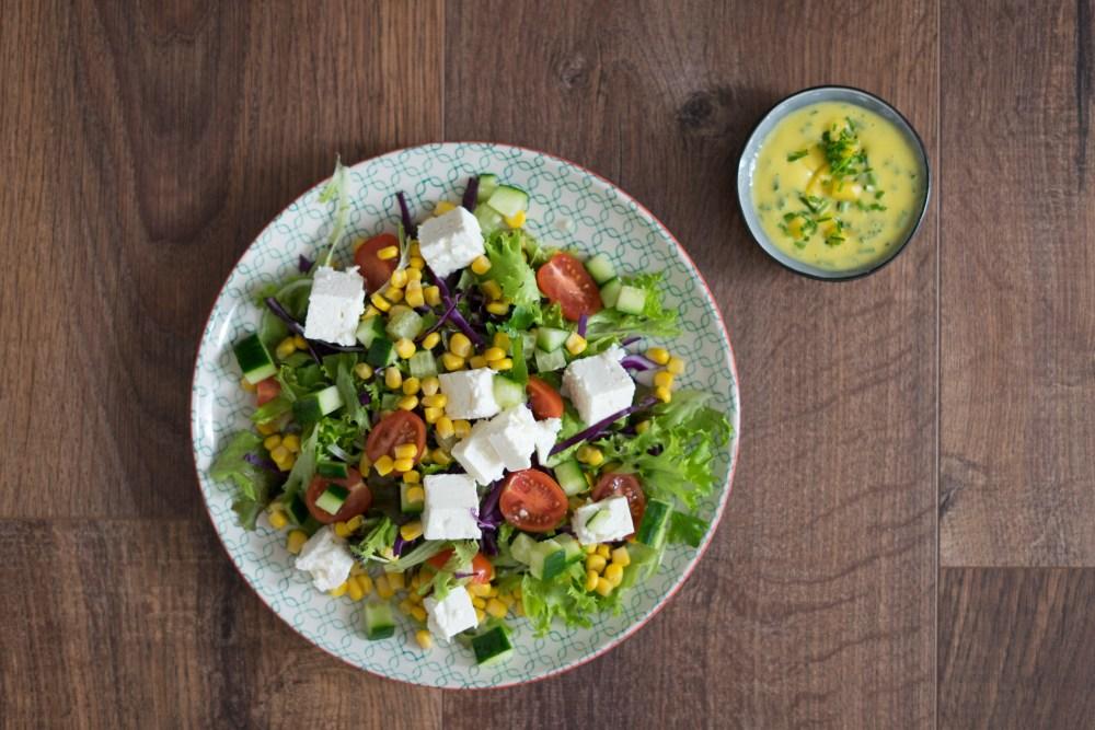schnelle Salate, Salat Rezept, Sommer, Frühling, Mango, FETA küsst Mango, Ernährung, Tipps, Food, Nutrition, Salatideen, Rennrad, Blog, Radblog, Foodblog