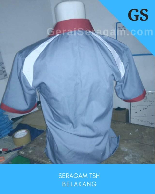 baju seragam tsh belakang