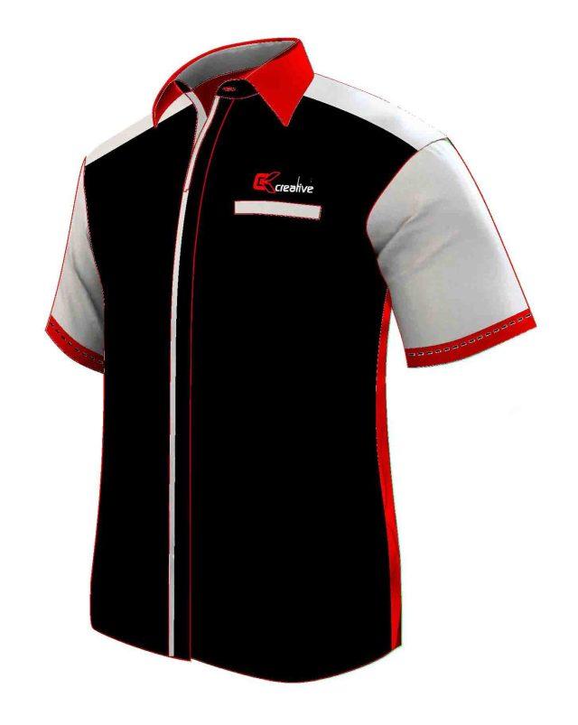 seragam kerja hitam