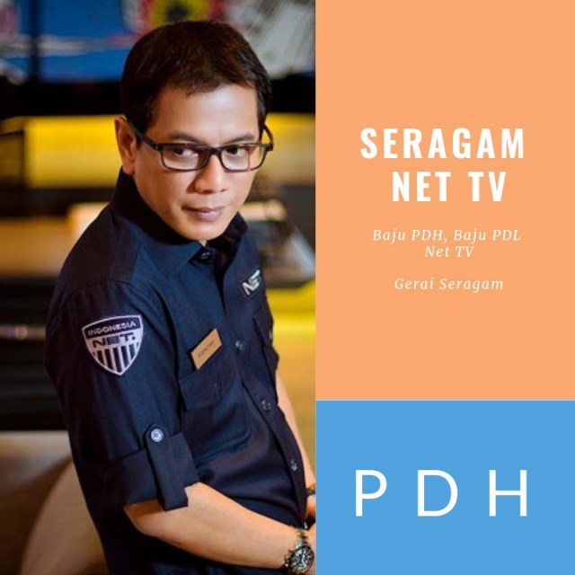 seragam net tv