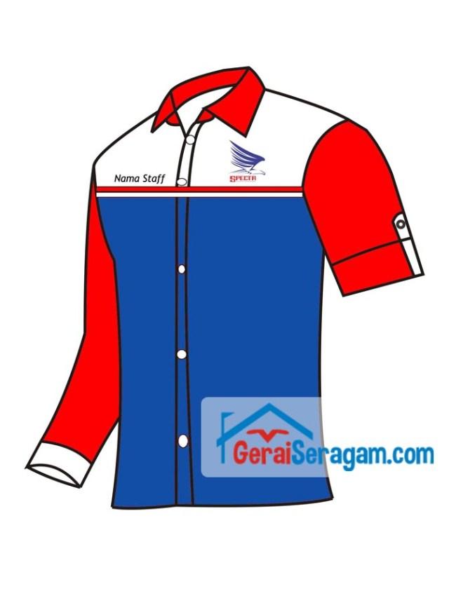 desain seragam kerja specta cargo