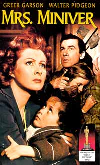 Gerald Peary - film reviews - Mrs. Miniver