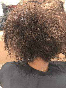 lissage au tanin sur cheveux afros