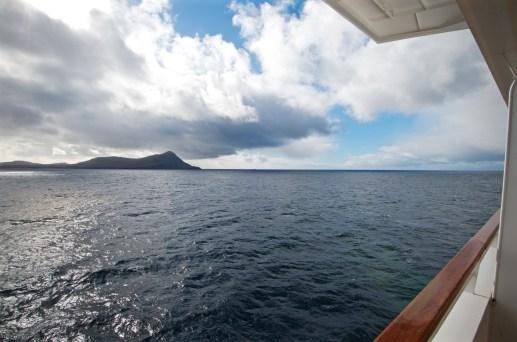 View from our verandah approaching Cape Horn