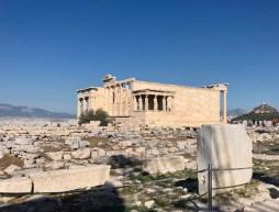 The Erechtheion actually a more historically important structure than the Parthenon
