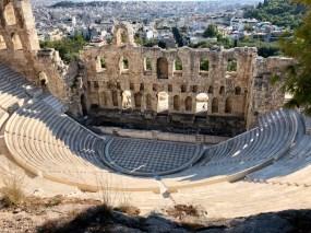 Odeon at Acropolis