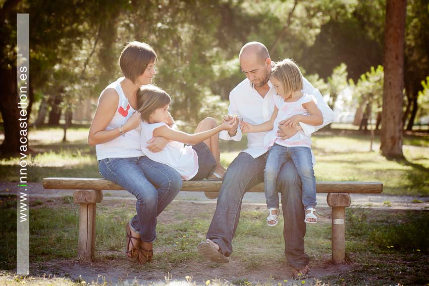 Sesión fotográfica de familia. Fotografía original, diferente (3)