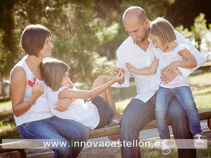Sesión fotográfica de familia. Fotografía original, diferente (1)
