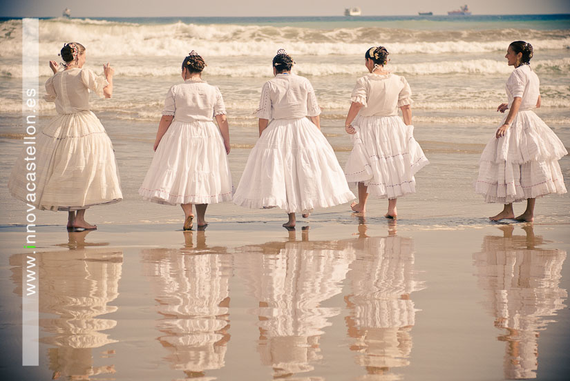 Sesión fotográfica en la playa, fotografías grupos regionales, Fotografo en castellón, Fotógrafo Gaitas Castellón (11)