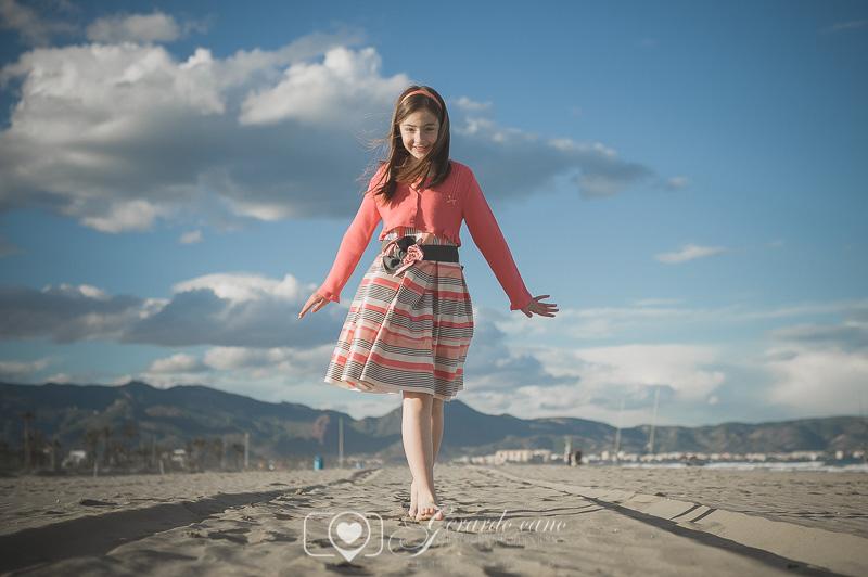 Fotos de comunión en la playa. Book fotos de comunión exteriores (6)