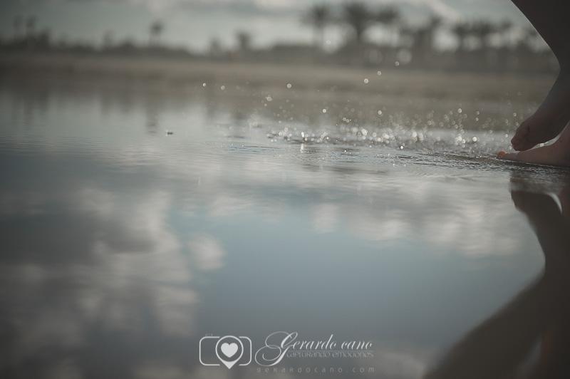 Fotos de comunión en la playa. Book fotos de comunión exteriores (4)