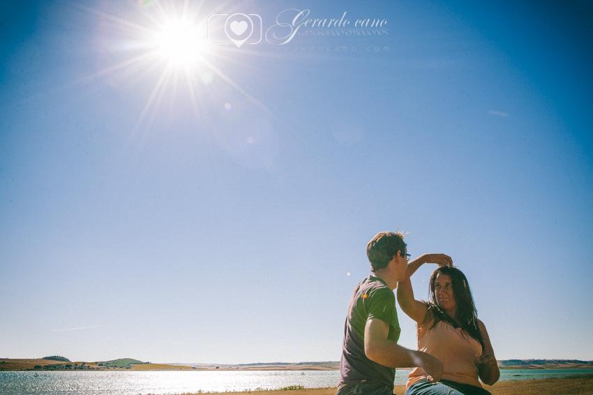 Fotos Boda Cuenca: Sesión de pre-boda con girasoles en Cuenca (34)