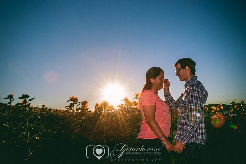 Fotos Boda Cuenca: Sesión de pre-boda con girasoles en Cuenca (8)