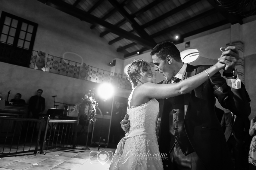 Baile nupcial Salones Boda en Cigarral de Cembranos León.