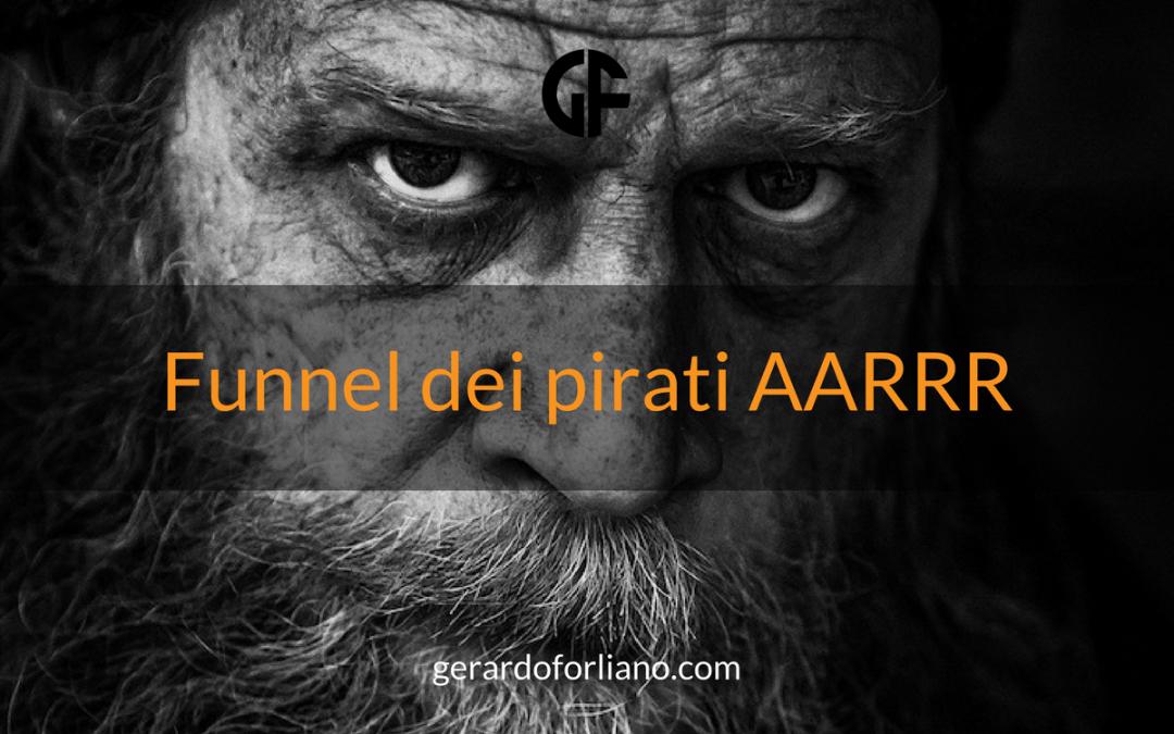 Funnel dei pirati AARRR