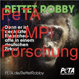Screenshot PeTA Facebookseite