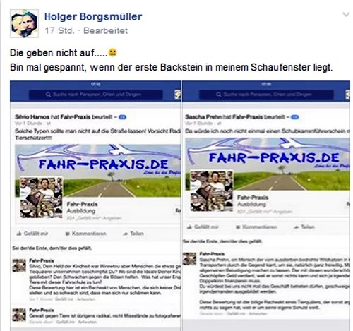 "Screenshot Facebook ""Frankfurt Vegan"" https://www.facebook.com/groups/393855230632793/?fref=ts"