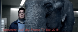 Screenshot Youtube: Fischer Werbespot 2015