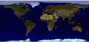 Standorte der Zugriffe Juni 2015 (Welt). Dieses kann auch auf der Webseite rechts unten immer Aktuell angeschaut werden.