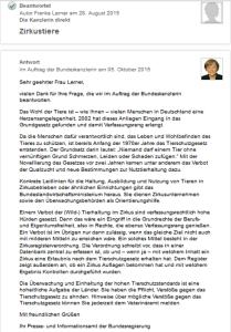 Screenshot direktzu.de / Bundeskanzlerin
