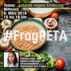 #FragPeTA 2 Heute Vegane Ernährung