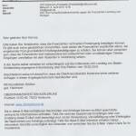 OFD Karlsruhe antworte auf meine Fachaufsichtsbeschwerde