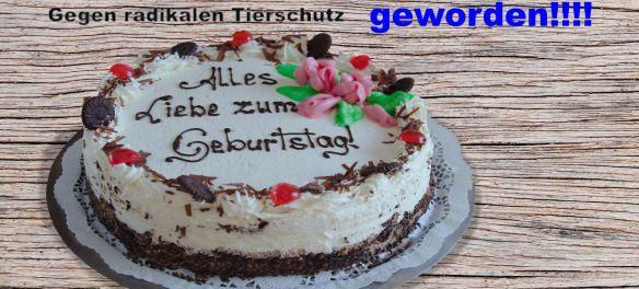 Die Geburtstags Torte für Gerati