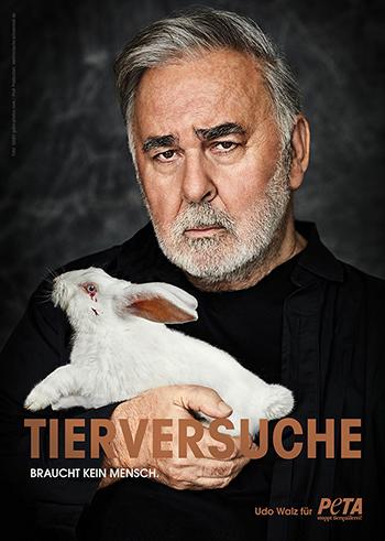 Udo Walz und die Doppelmoral von PeTA / Screenshot: PeTA.de