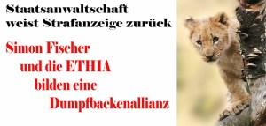Simon Fischer und die ETHIA eine Dumpfbackenallianz