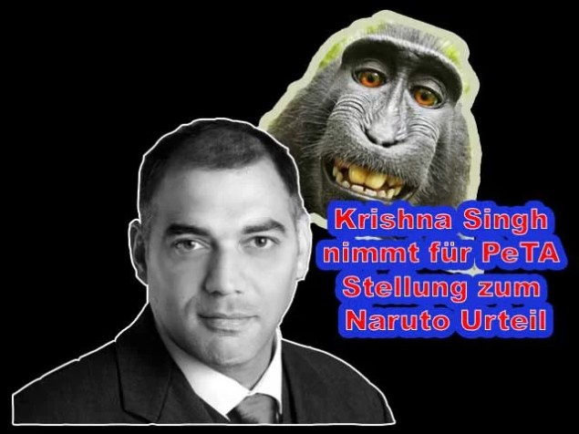 Krishna Singh nimmt für PeTA Stellung zum Naruto Urteil