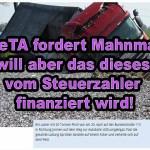 PeTA fordert Mahnmal – will es aber nicht finanzieren!