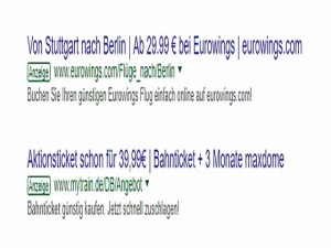 PeTA will nur im geheimen Tagen / Screenshot Google Suche