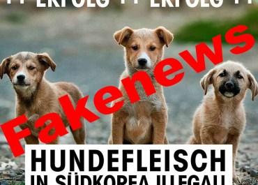PeTA Fakenews Check (1) / Screenshot PeTA Facebook-Seite mit Fakenews versehen
