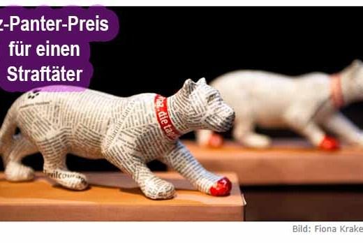 taz will SOKO Tierschutz Straftäter auszeichnen / Foto: taz.de