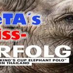 PeTA sorgt für Ende der Unterstützung von wichtigen Naturschutzprojekten in Thailand