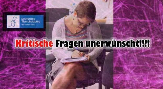 Jan Pfeifer vom Deutschen Tierschutzbüro lädt Journalisten telefonisch wieder aus!