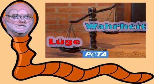 Bezichtigt PeTA sich gerade hier selbst der Hehlerei?