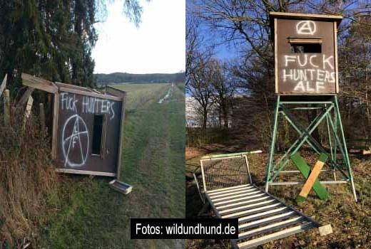 PeTA Schergen verhaftet Foto: wildundhund.de