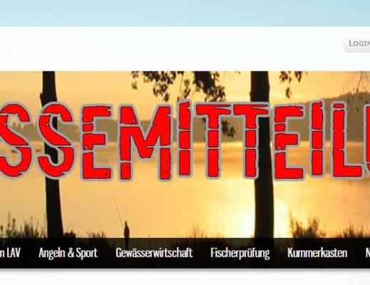 Pressemitteilung des Landesanglerverband Sachsen-Anhalt e.V. anerkannter Naturschutzverband