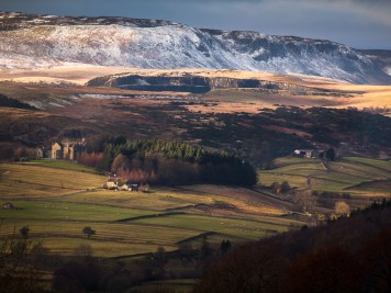 Teesdale in winter
