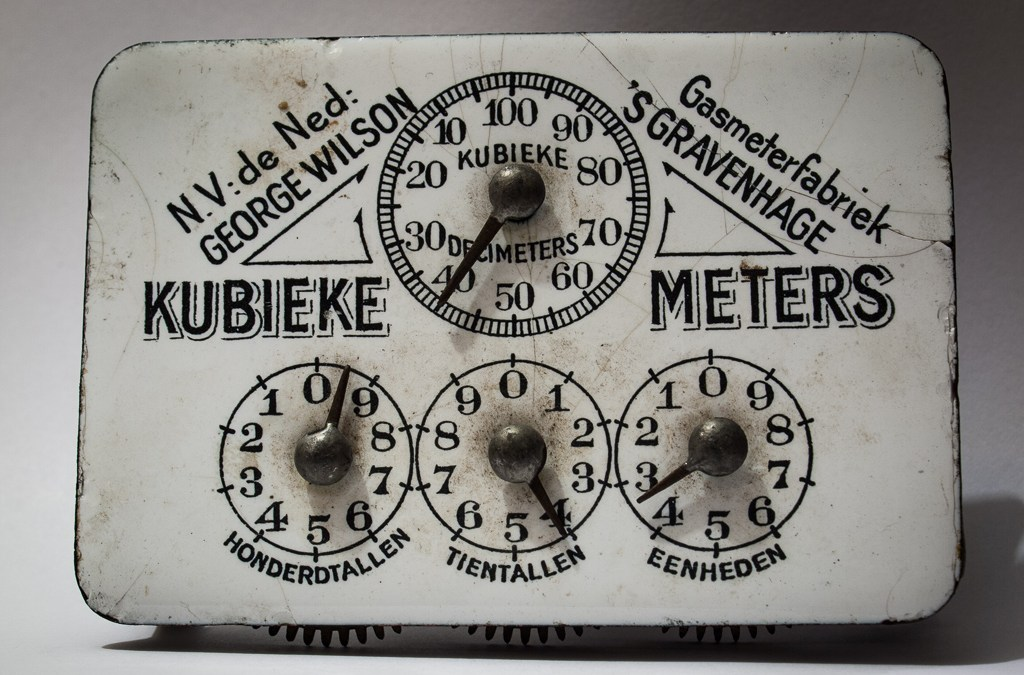Old Gasmeter